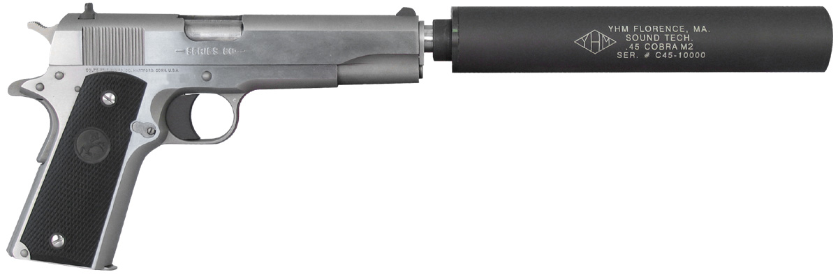 SEMPER FI ARMS - YHM Cobra  45 caliber sound suppressor